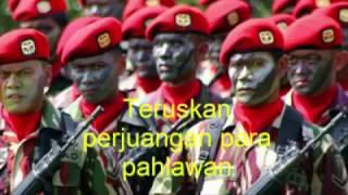 Maju ayo maju ayo maju TNI, Tetap menjaga keutuhan Negara Kesatuan Republik Indonesia