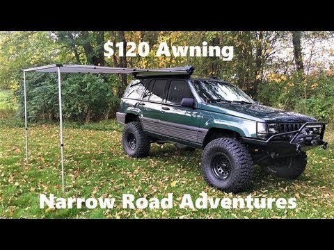 $120 eBay Vehicle Rooftop Awning Review - 4K