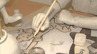 Tintin : Bourreau de Travail ( Hergé ) réalisé par Pierre Reischek