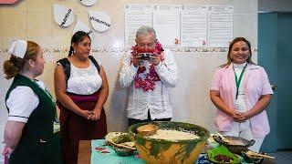 Alimentos y bebidas tradicionales en Hospital Rural Tlacolula de Oaxaca