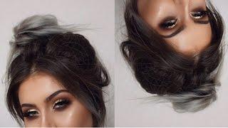 Grungy Glittery Eye Makeup Tutorial