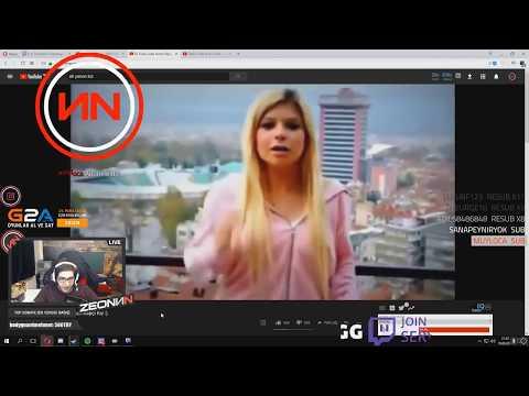 ZeoNN Duygu Köseoğlu Dis Videosunu izliyor
