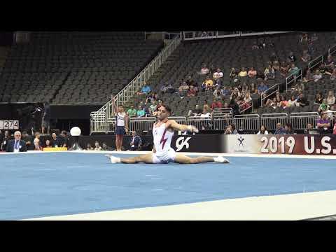 Levi Anderson– Floor Exercise – 2019 U.S. Gymnastics Championships – Senior Men Day 1