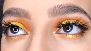 rainbow eye look