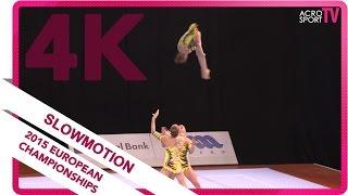 Belkina, Nikitina, Parkhometc - Russia - Senior all-around final - European Championship 2015