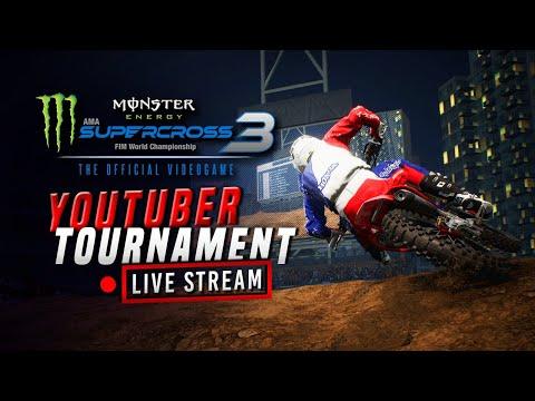 Monster Energy Supercross 3 - YouTuber Tournament - Makeup Races