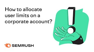 How to allocate liṁits on a corporate account?