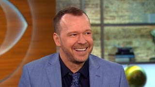 "Donnie Wahlberg on 2016 race, ""Blue Bloods"" season finale"