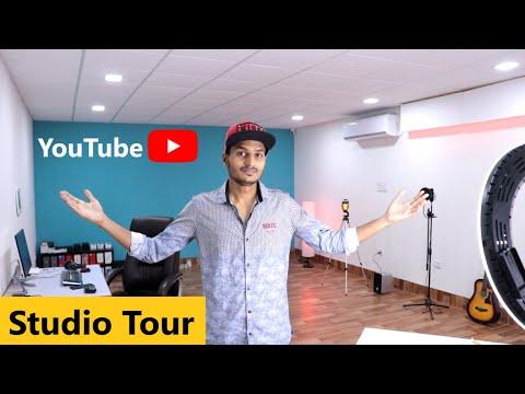 My New Youtube Studio Setup Tour 2020 | Mr Technical