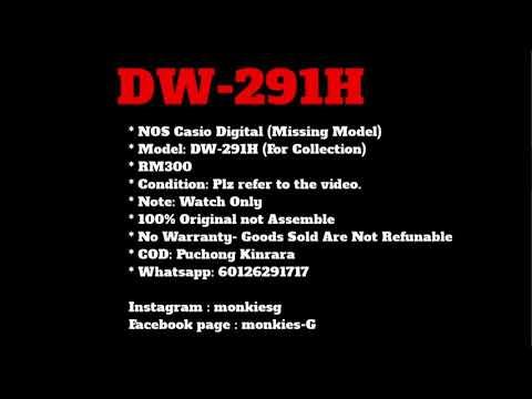 NOS Casio Digital DW-291H (Missing Model)