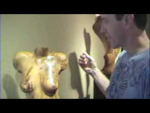 Tree Art with Wood Sculptor Chad Awalt and Dr. Ken Grey Holistic Physician