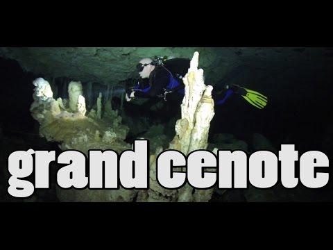 Cave Diving, Grand Cenote, Mexico