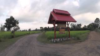 Bike Ride in Rice Fields in Rural Thailand (Isaan) by Live Less Ordinary