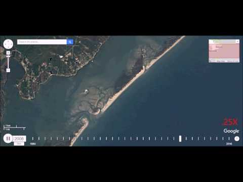 Watch the Formation of a Barrier Island