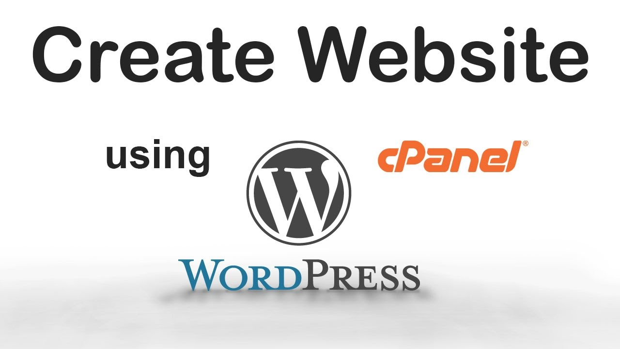 How to create wordpress site using cpanel in less than 5 minutes