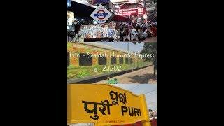 Puri-Sealdah Duronto Express: A short journey compilation|Family, Food & Lifestyle|Bangla VLOG