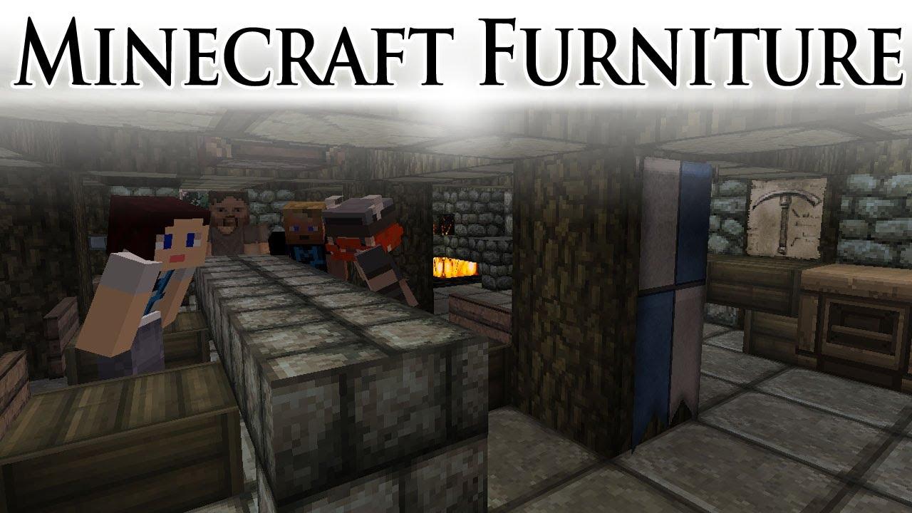 Minecraft Interiors And Furniture