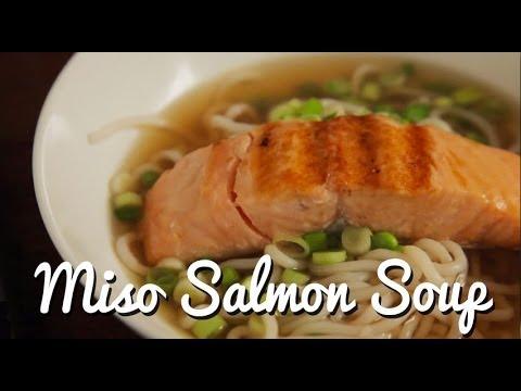 Miso Salmon Soup