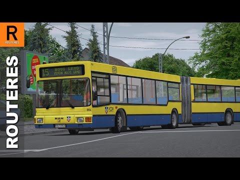 OMSI 2 - Belgrade - Line 15: Zemun Novi Grad - Zeleni Venac