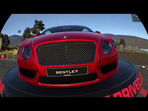 Bentley Continental GT V8 VR OnBoard Realidad Virtual Driveclub VR