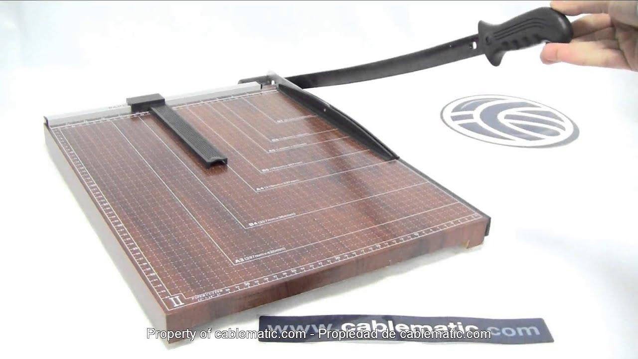 Cizalla de palanca para papel a3 46x38cm distribuido por for Cizalla manual para metal