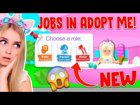 *NEW* JOBS UPDATE Coming Soon? HOW To Make Money FAST In Adopt Me! (Roblox)