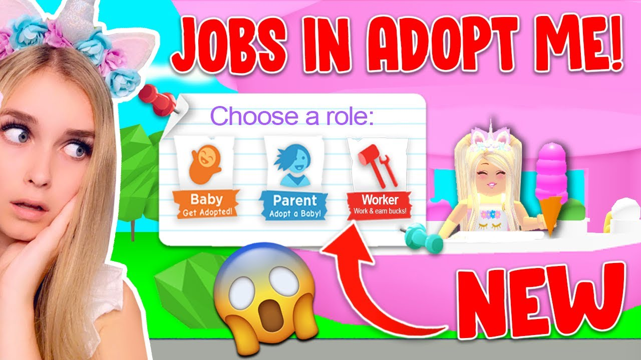 New Jobs Update Coming Soon How To Make Money Fast In Adopt Me