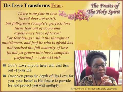 Fruit of the Holy Spirit Bible Study Online Lesson 4