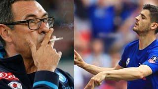 MAURIZIO SARRI  Warns  Alvaro Morata Strongly