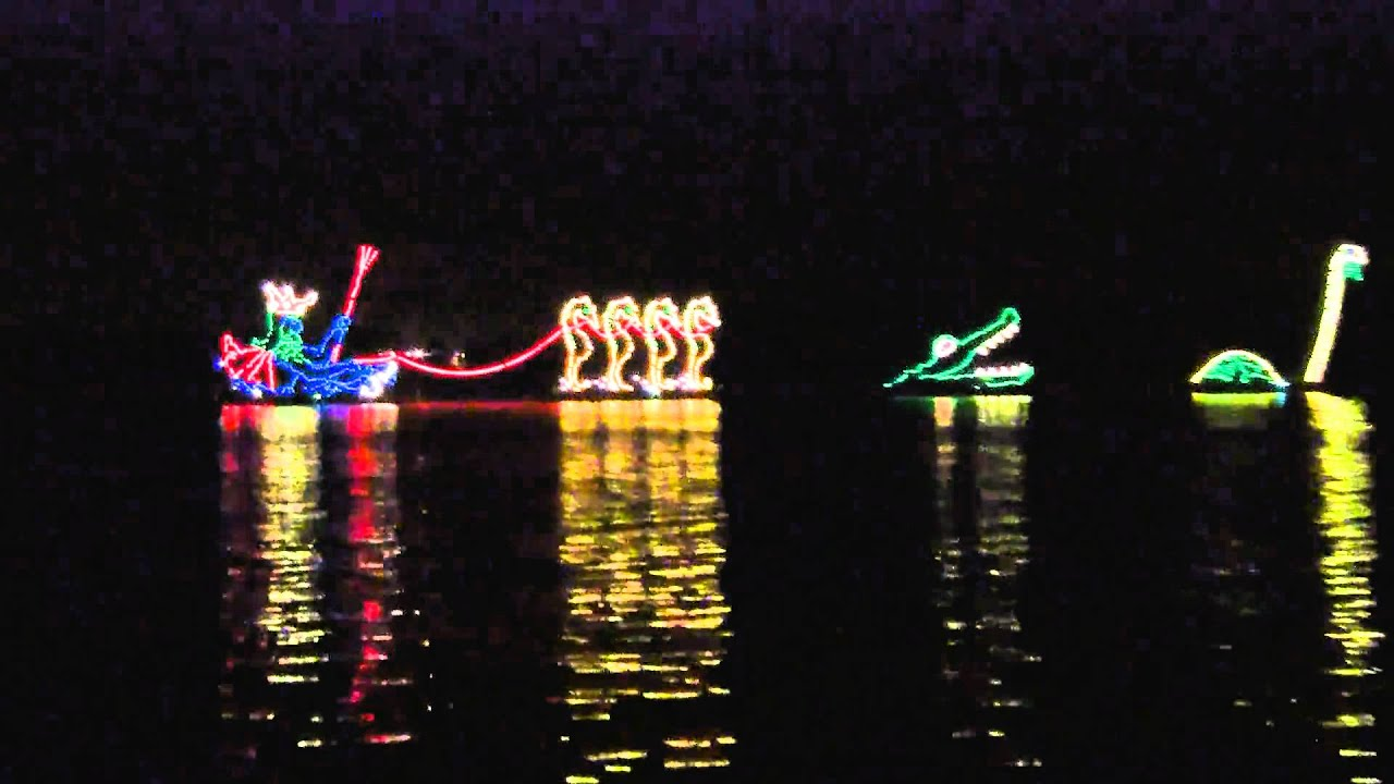 Electric Water Pageant Disney 39 S Fort Wilderness Campground Youtube