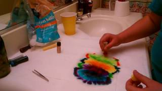 Paper towel TIE-DYE