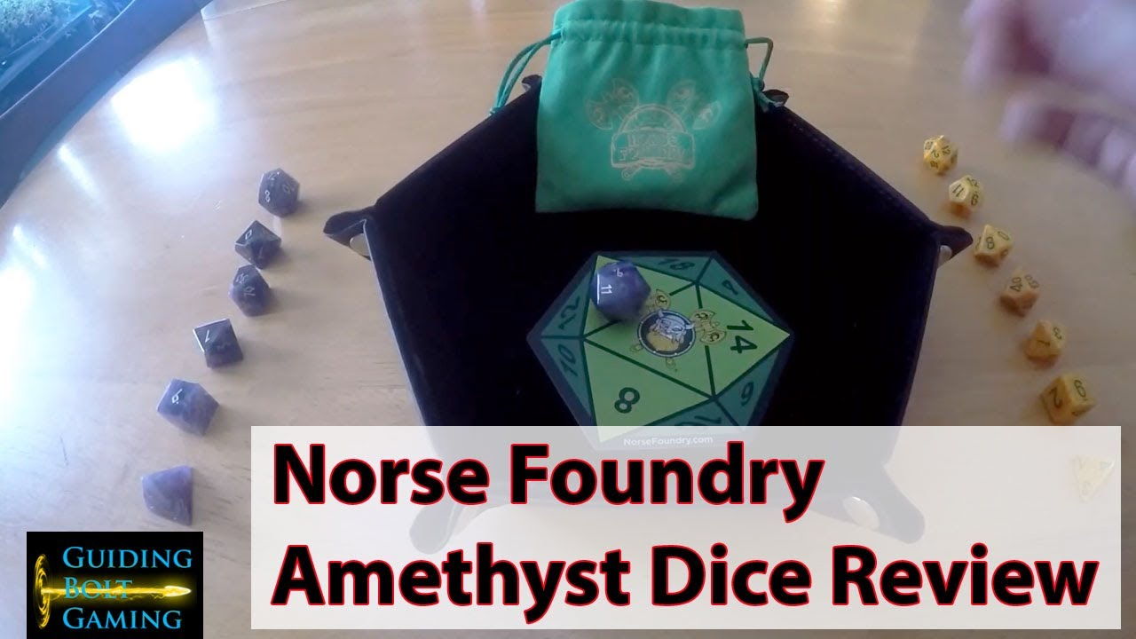 Norse Foundry 7 Piece Gemstone Amethyst Dice Review Youtube Foundry vtt features an advanced framework for rolling dice, with support for a high level of foundry virtual tabletop provides additional modifiers to the command structure which provide some. norse foundry 7 piece gemstone amethyst dice review