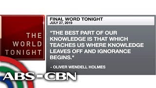 Final Word - July 27, 2019   ANC
