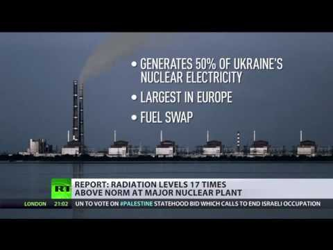Report Says Radioactive Leak Detected At Ukraine's Major Nuclear Power Plant