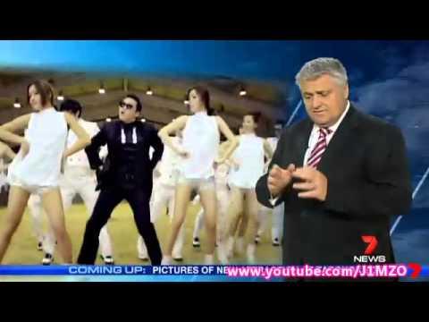 PSY arrives in Sydney, Australia for X Factor & Sunrise performances