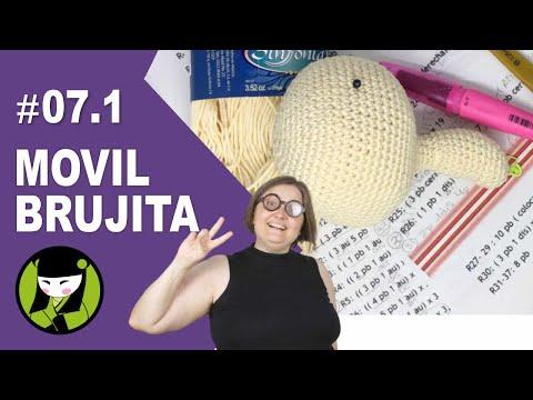 Como tejer una bruja a crochet 7.1 amigurumi