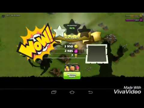 CLASH OF CLANS|TH2|BEST DEFENCE AND ATTACK STRATEGY|BY AWESOME|
