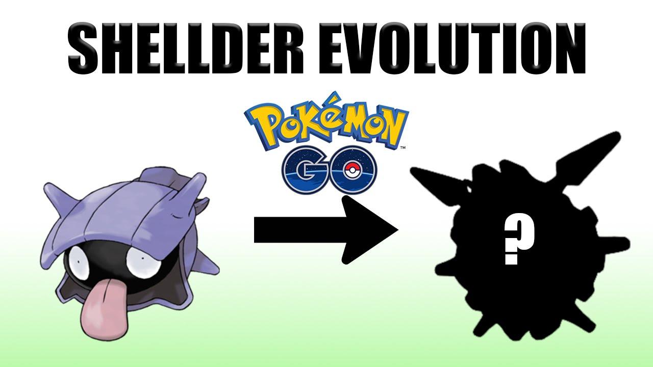 Shellder Evolution