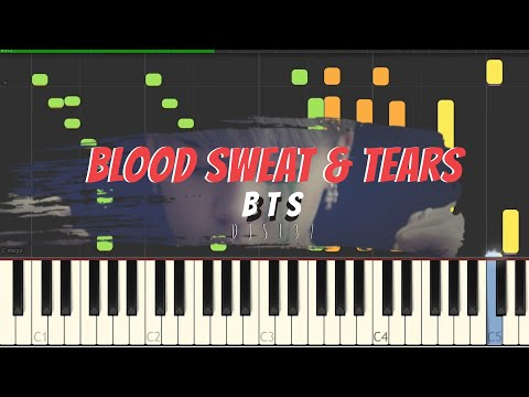 BTS - Blood Sweat & Tears Piano Cover[Sheets]
