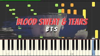 BTS Blood Sweat Tears Piano Cover Sheets