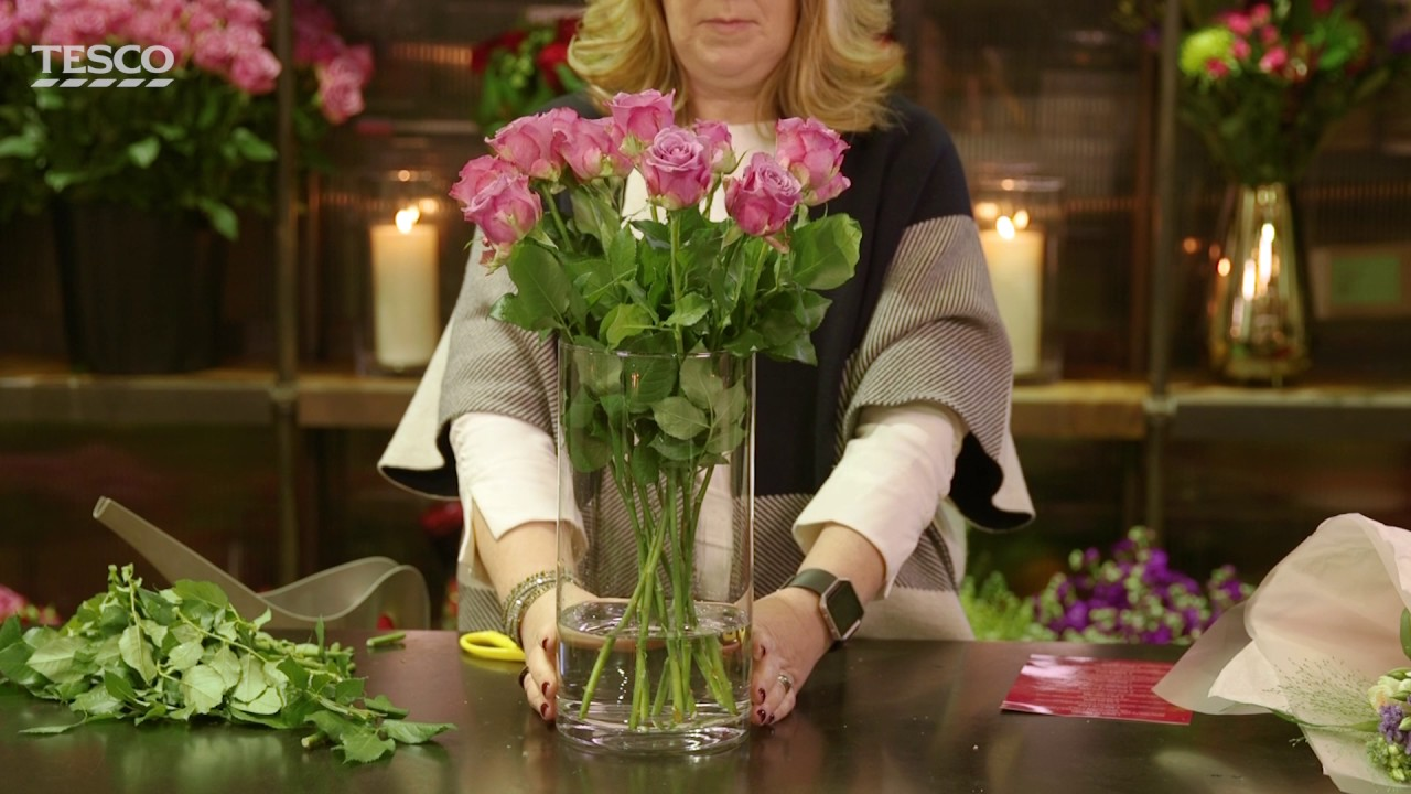 Tesco | Flower Care | Top Tips