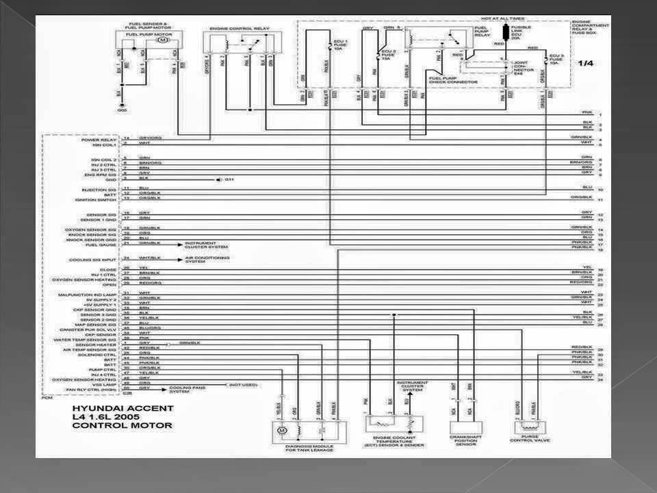 Diagrama electrico Hyundai Accent 2005  YouTube