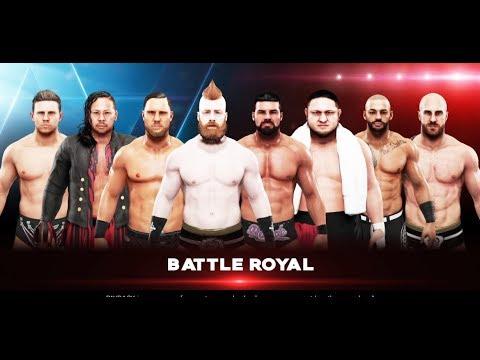 WWE-2K19- 8 Men Battle Royal Match- WWE-2K19-Gamplay