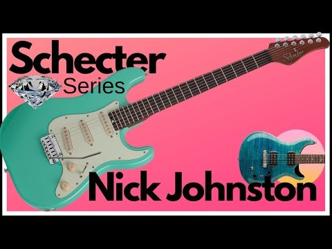 Schecter Guitars - Nick Johnston Traditional in Atomic Green