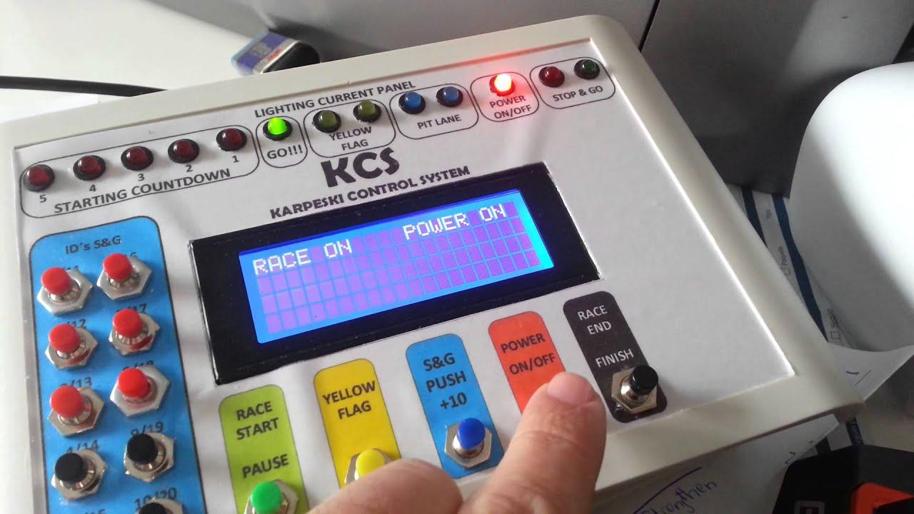 Arduino pc lap counter oxigen slot it youtube