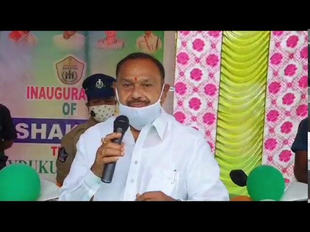 Mydukuru MLA Raghuram Reddy Settipally in Shakthi Team Bikes Inaguration.   Kadapa