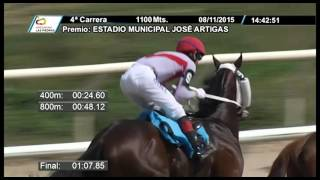 Vidéo de la course PMU PREMIO ESTADIO MUNICIPAL JOSE ARTIGAS