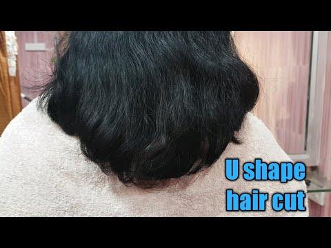 How To Get A Deep U Hair Cutu Shape Hair Cutu Hair Cut Tutorial