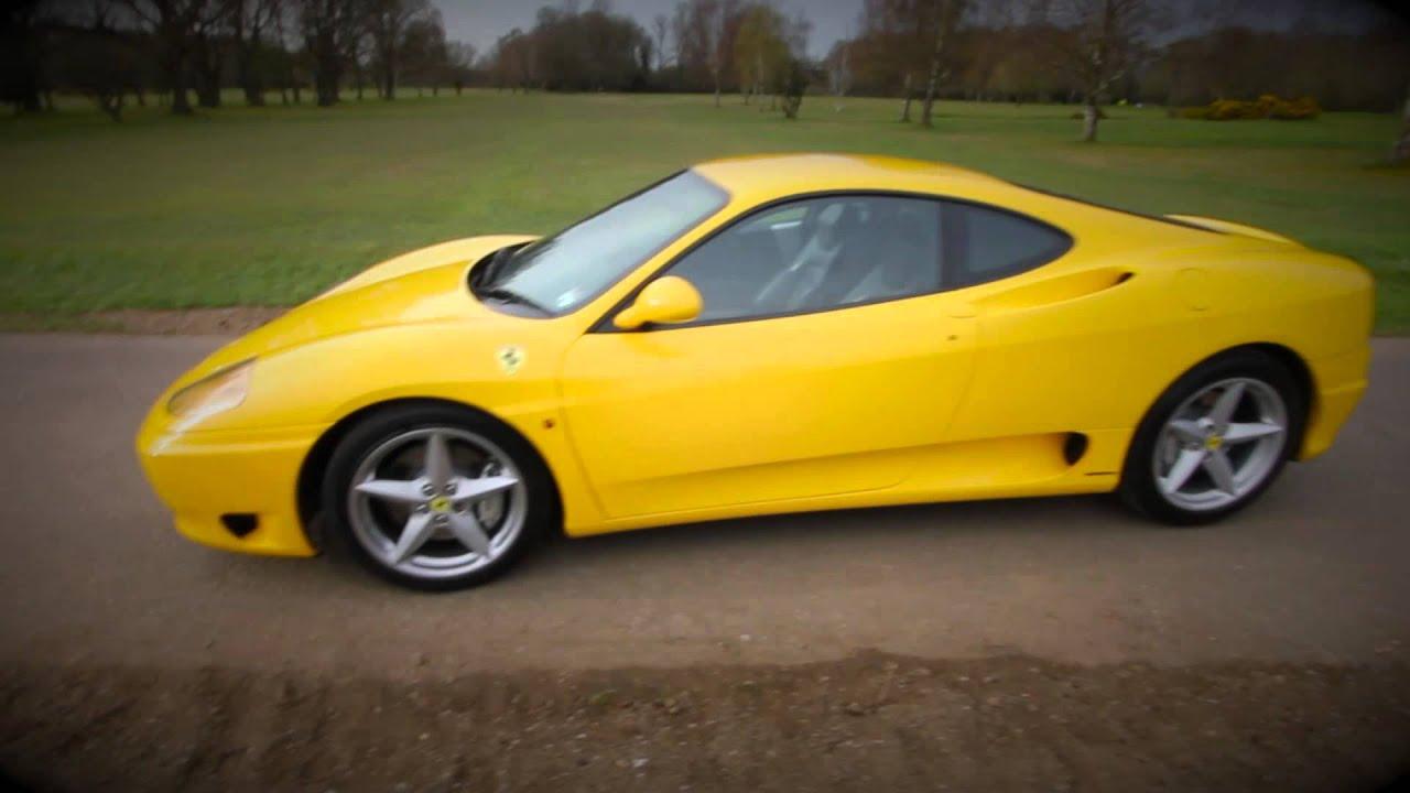 Part 2 Ferrari 360 Modena Yellow F1 Tubi Competition