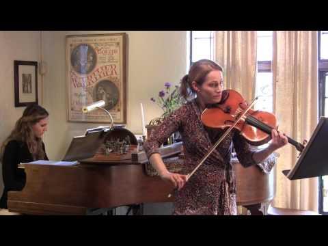 Erina Laraby-Goldwasser plays Glinka Viola Sonata, 1st Movement